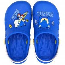 Babuche Infantil Sonic Speed Masculina - Azul