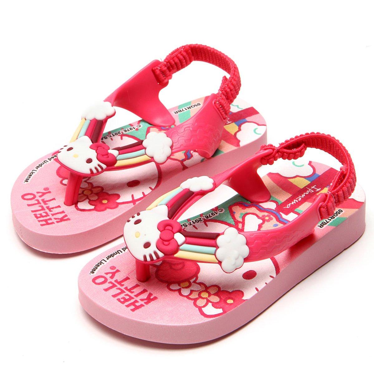 Sandália Infantil Ipanema Hello Kitty Baby - Rosa
