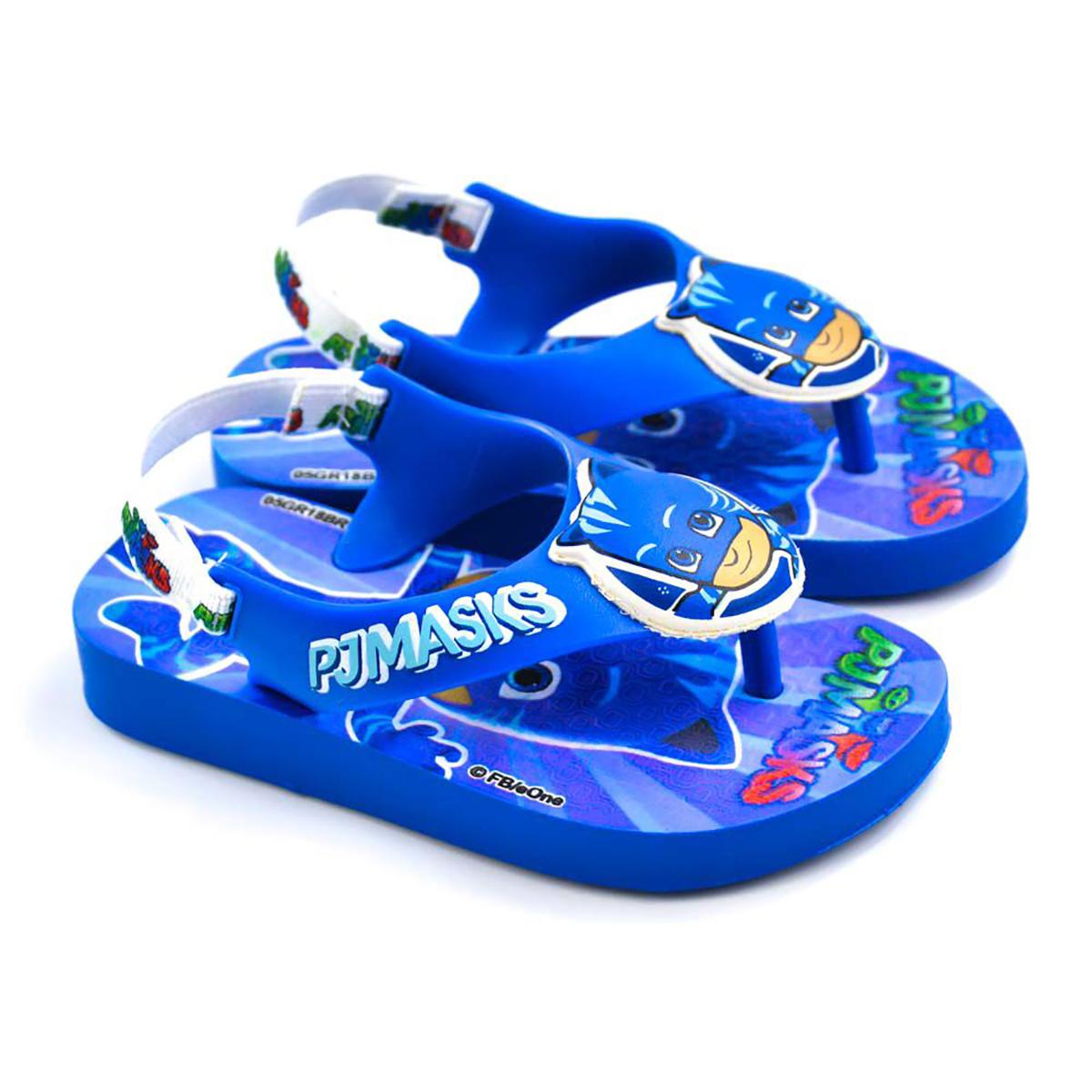 Chinelo Infantil Ipanema PJ Masks Baby - Azul