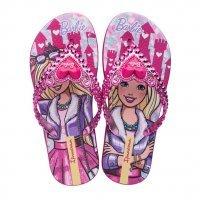 Chinelo Barbie Princesa Ipanema Menina - Rosa