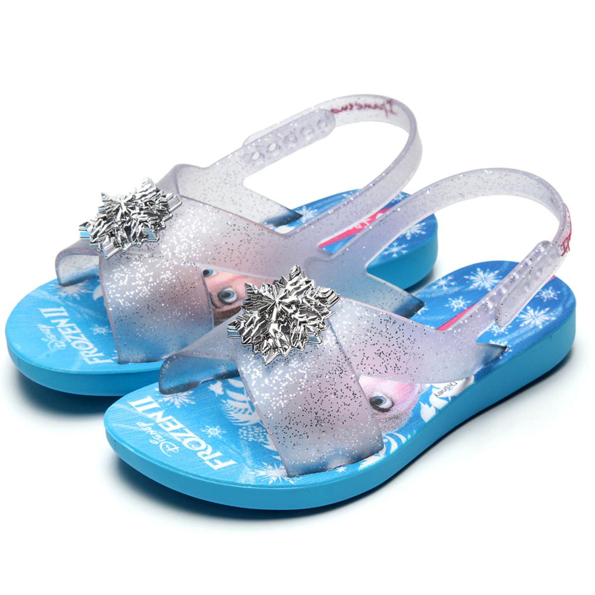 Sandália Ipanema Kids Infantil Frozen 2 - Azul