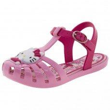 Sandália Grendene Hello Kitty Infantil - Rosa