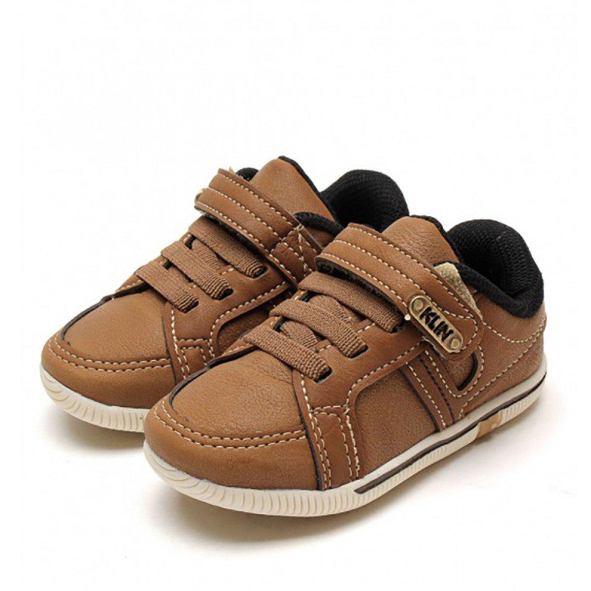 Tênis Infantil Klin Baby Flyer Caramelo - Compre Agora  ade27ba037c4d
