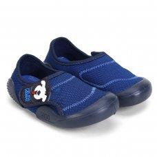 Sapato Infantil Klin New Confort Masculino - Azul e Marinho