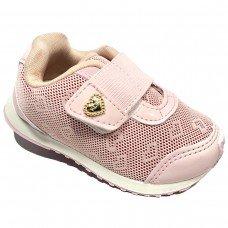 Tênis Infantil Klin Mini Walk Casual - Rosa