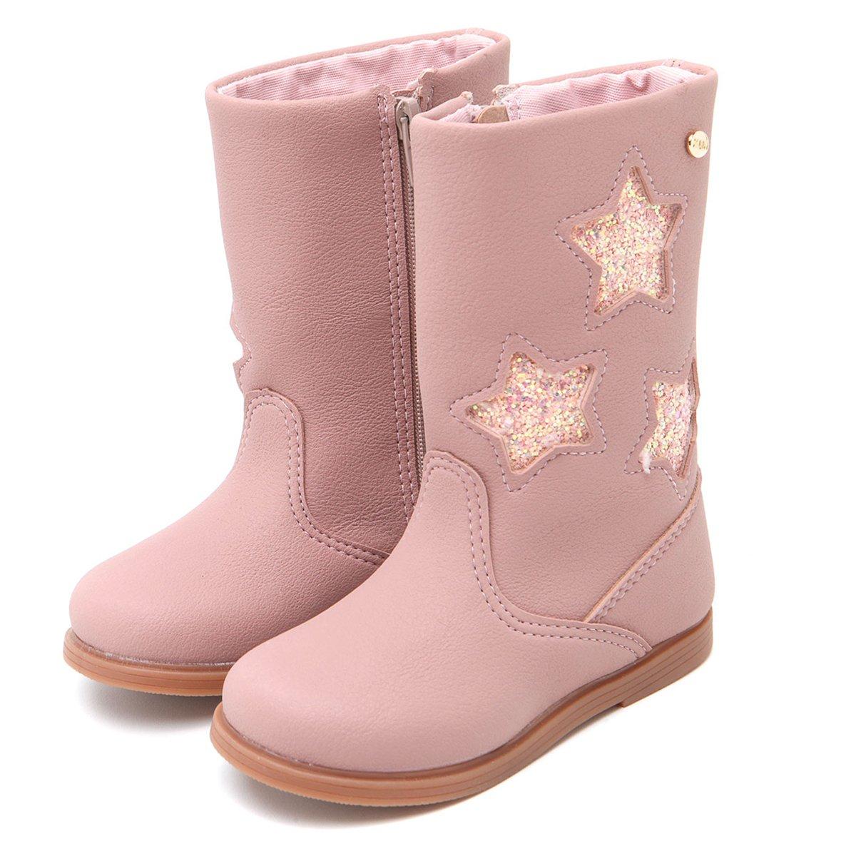 07926b29f Bota Infantil Klin Miss Fashion Estrela Rosa - Compre Agora