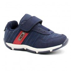 Sapato Klin Outdoor Casual Infantil - Marinho e Vermelho