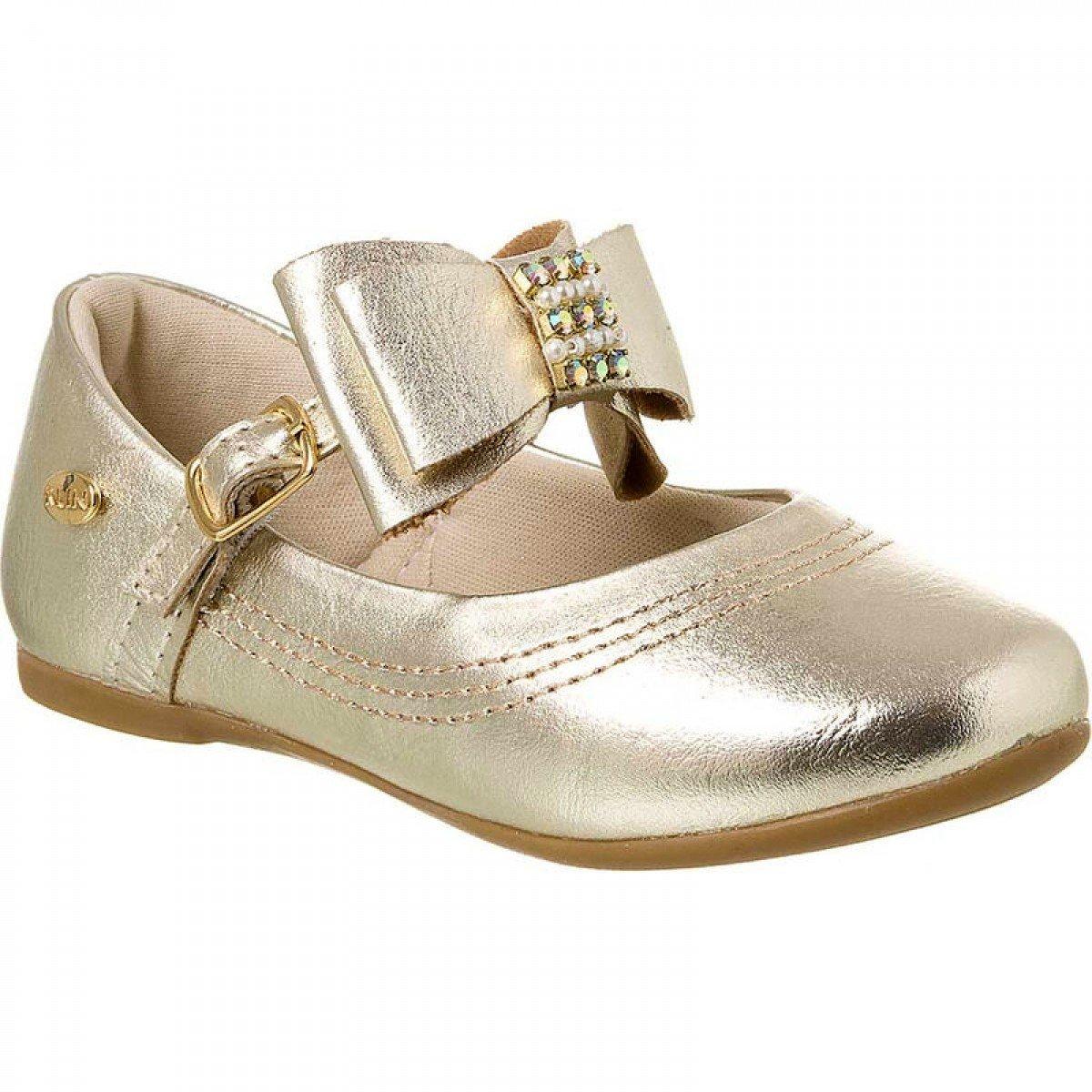 00cafd2f81 Sapatilha Klin Princesa Baby Infantil Dourado - Compre Agora ...