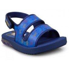 Sandália Grendene Mickey Minnie Infantil - Azul