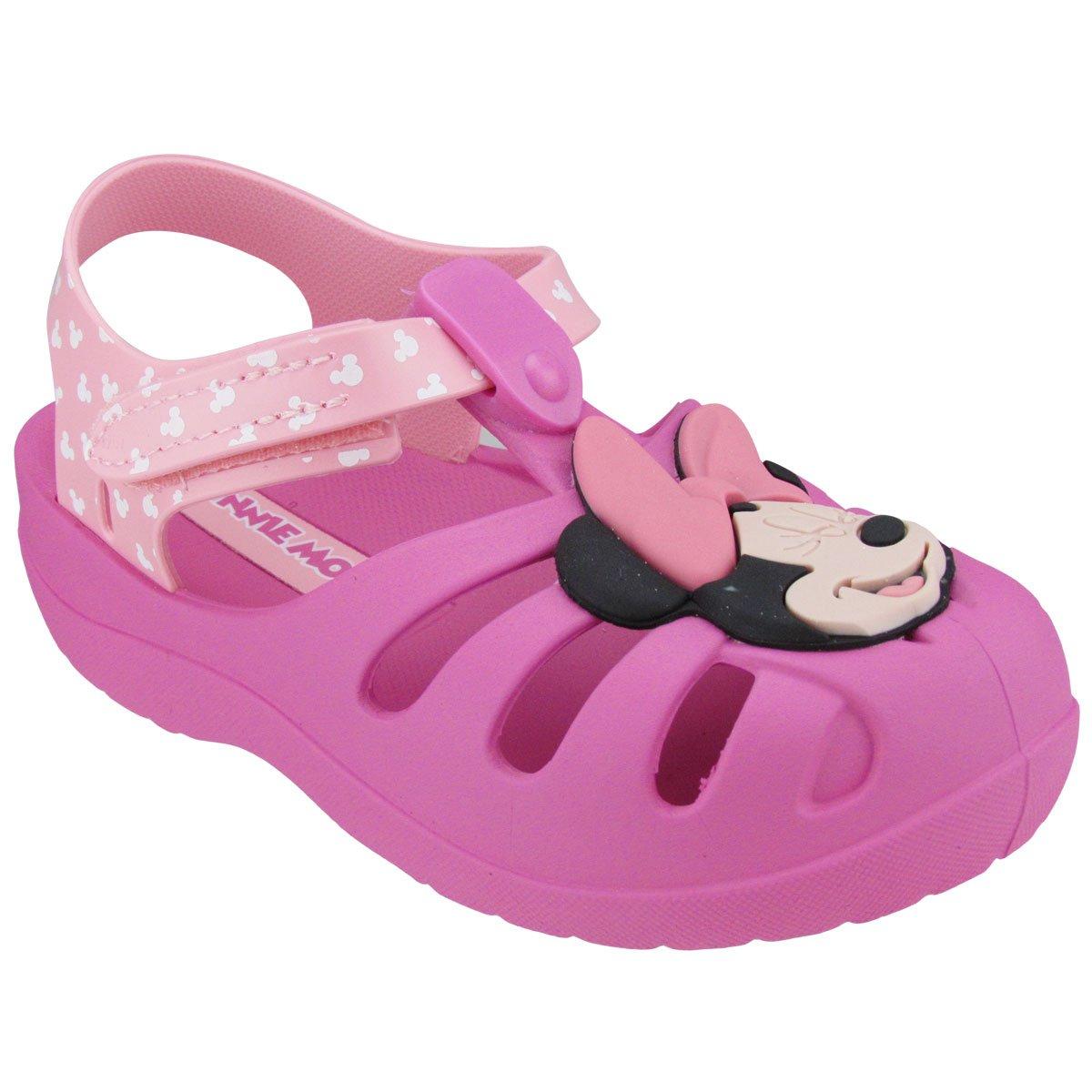 db3885111 Sandália Infantil Grendene Mickey Minnie - Compre Agora