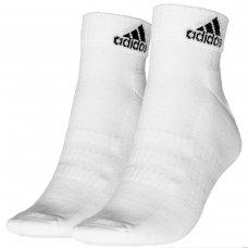 Kit Meia Adidas Cano Curto Cush Ank Pacote com 3 pares - Branco