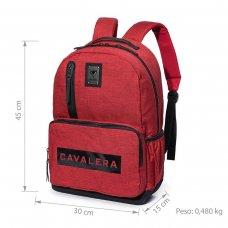 Mochila Cavalera Mark 20L Masculina - Vermelho