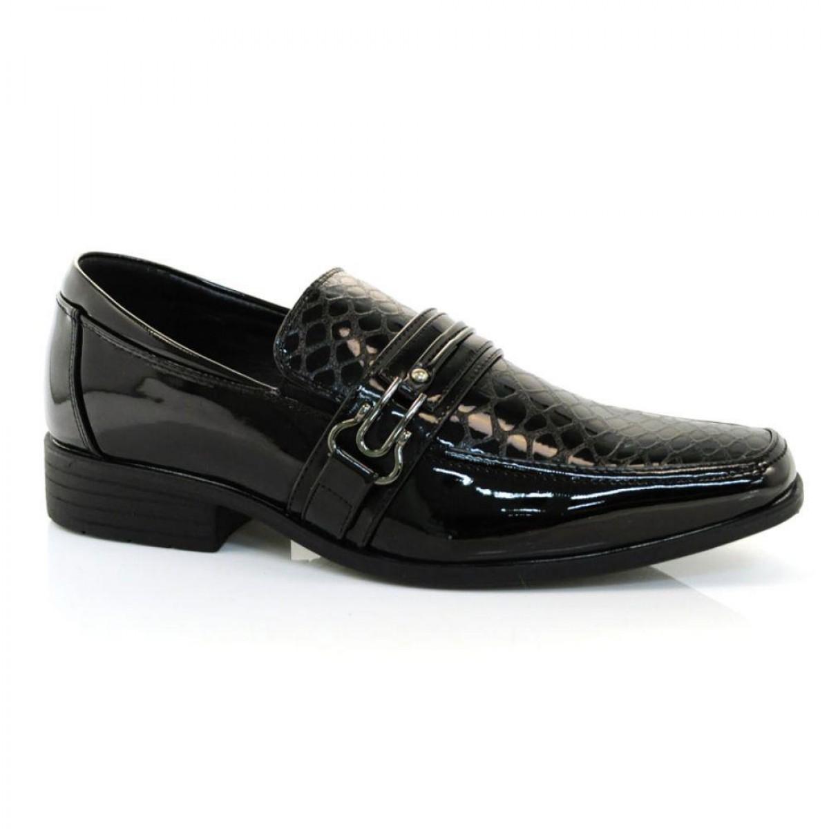 b74b508535 Sapato Broken Rules Masculino Preto - Compre Agora