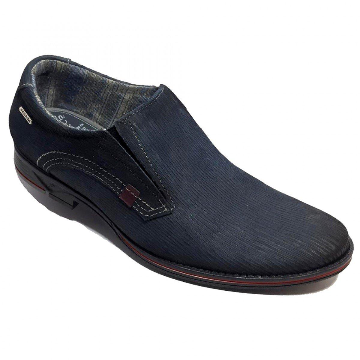 23302f4cf Sapato Social Masculino Pegada Couro Royal - Compre Agora