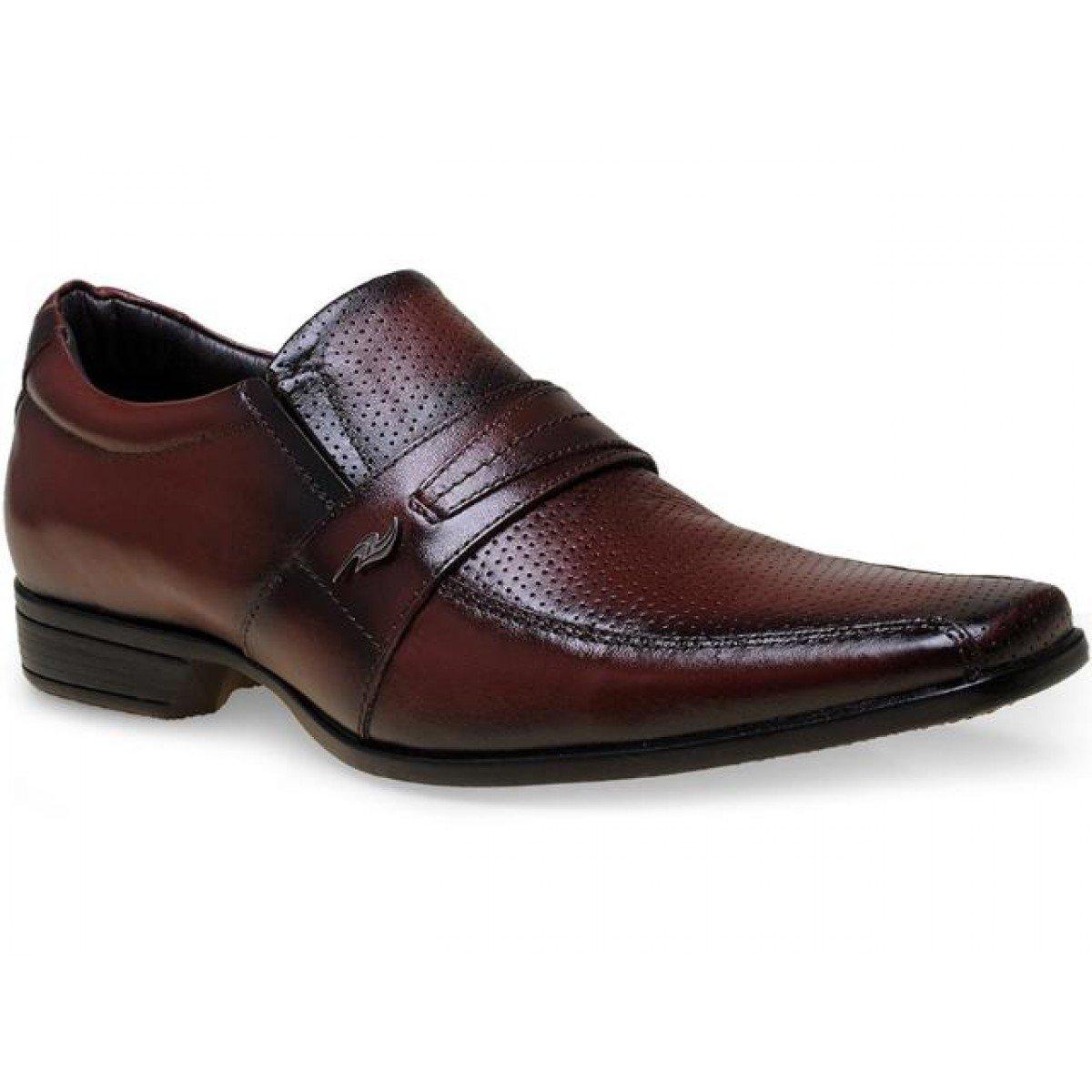 4a5957545 Sapato Social Masculino Rafarillo Couro Mogno - Compre Agora |Cabana ...