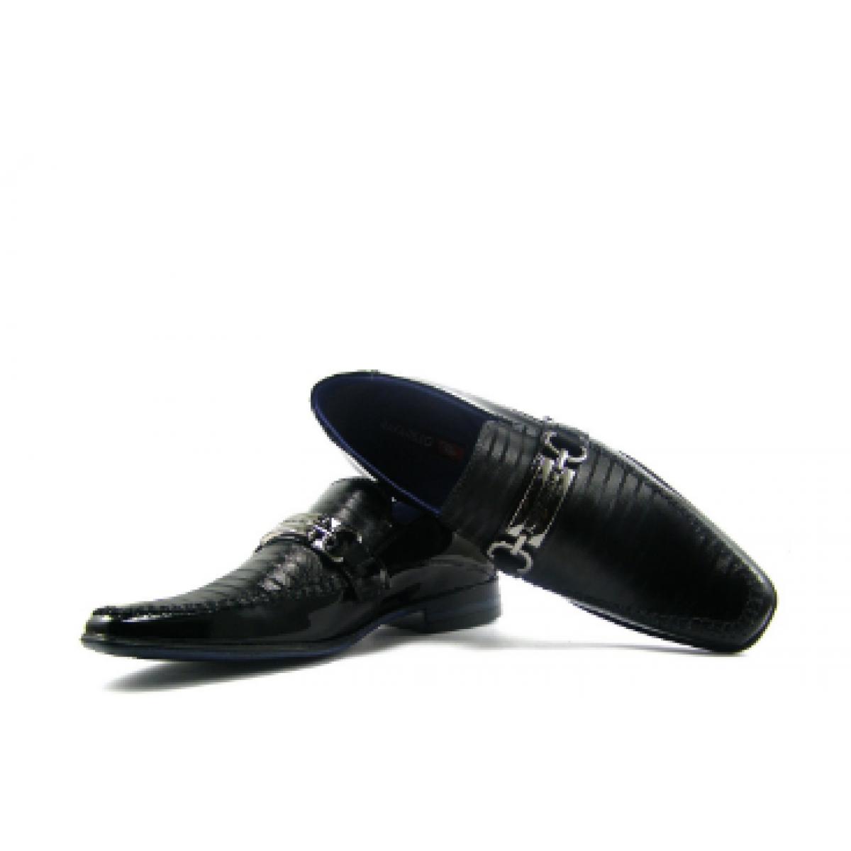 c028838d96 Sapato Social Masculino Rafarillo Couro Kit 4 em 1 Preto - Compre ...