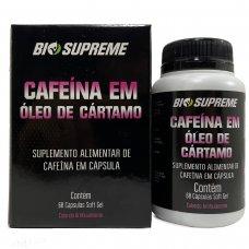 Cafeína Em Óleo Cártamo 200mg Bio Supreme - 60 Cápsulas