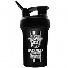 Coqueteleira Darkness Integralmédica Preta - 450 ml