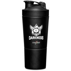 Coqueteleira Alumínio 2 doses Preta Darkness - 590 ml