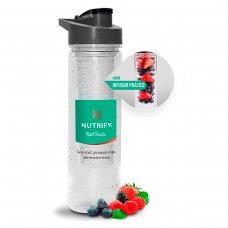 Water Bottle com Infusor Transparente Nutrify - 800ml