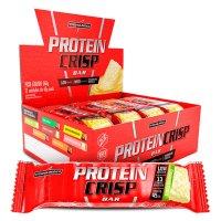 Barra de Proteínas Crisp Bar Torta de Limão Integralmédica - 12 barras