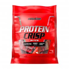 Barra de Proteínas Crisp Bites Peanut Butter 375g IntegralMédica - 15 barras