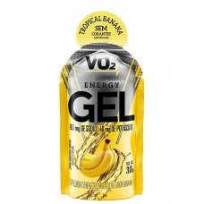 Carbo VO2 Energy Gel Banana IntegralMédica - 10 Sachês