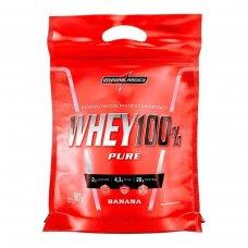 Whey Protein 100% Pure Banana IntegralMédica Refil - 907g