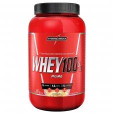 Whey Protein 100% Pure Baunilha IntegralMédica Pote - 907g