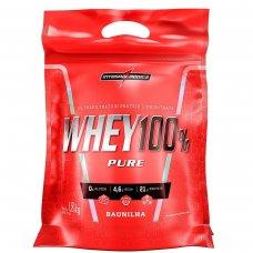 Whey Protein 100% Pure Baunilha IntegralMédica Refil - 1,8 Kg