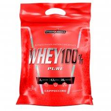 Whey Protein 100% Pure Capuccino IntegralMédica Refil - 1,8 Kg