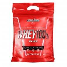 Whey Protein 100% Pure Capuccino IntegralMédica Refil - 907g