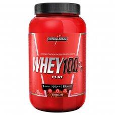 Whey Protein 100% Pure Chocolate IntegralMédica Pote - 907g