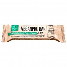 Barra de Proteínas Vegana Veganpro Amendoim Crocante Nutrify - 10 unidades