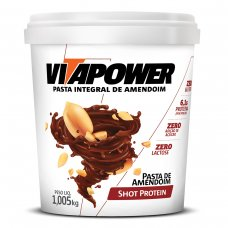 Pasta de Amendoim Shot Protein Vita Power - 1kg