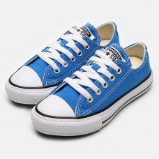 Tênis Converse Infantil Chuck Taylor All Star Seasonal Ox - Azul
