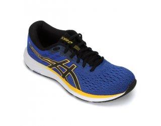 Tênis Asics Gel-Excite 7 Masculino - Azul e Amarelo