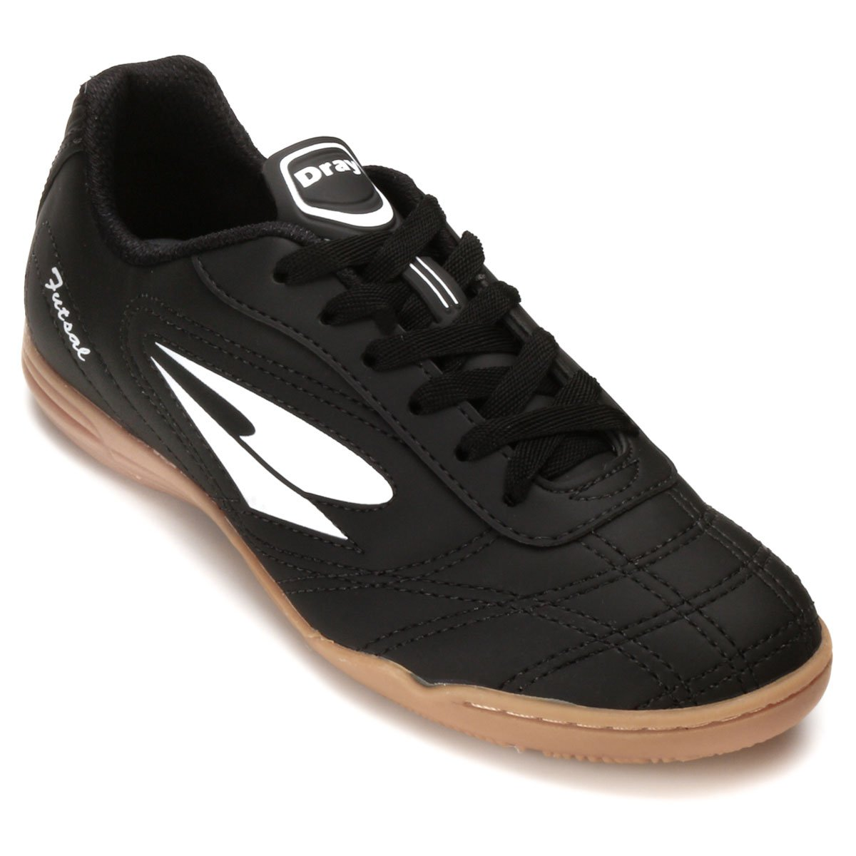 Chuteira Futsal Dray Indoor Masculina - Preto