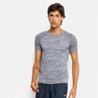 Camiseta Fila Match III Masculina - Mescla e Marinho