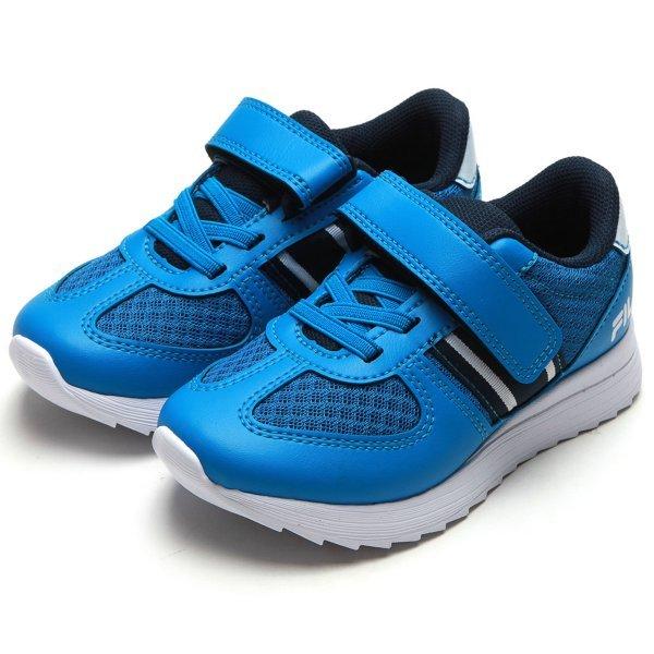 Tênis Infantil Fila Velcro F-Retro Sport 2.0 - Azul