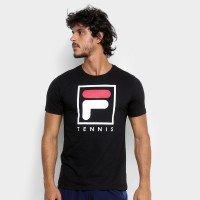 Camiseta Fila Soft Urban Masculina - Preto e Branco