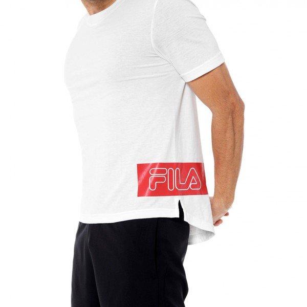 Camiseta Fila Sports Block Masculina - Branca