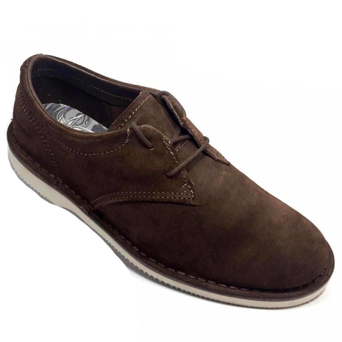 cfb694a65e1 Sapato Couro Kildare Filey Camurção Saddle Marrom - Compre Agora ...