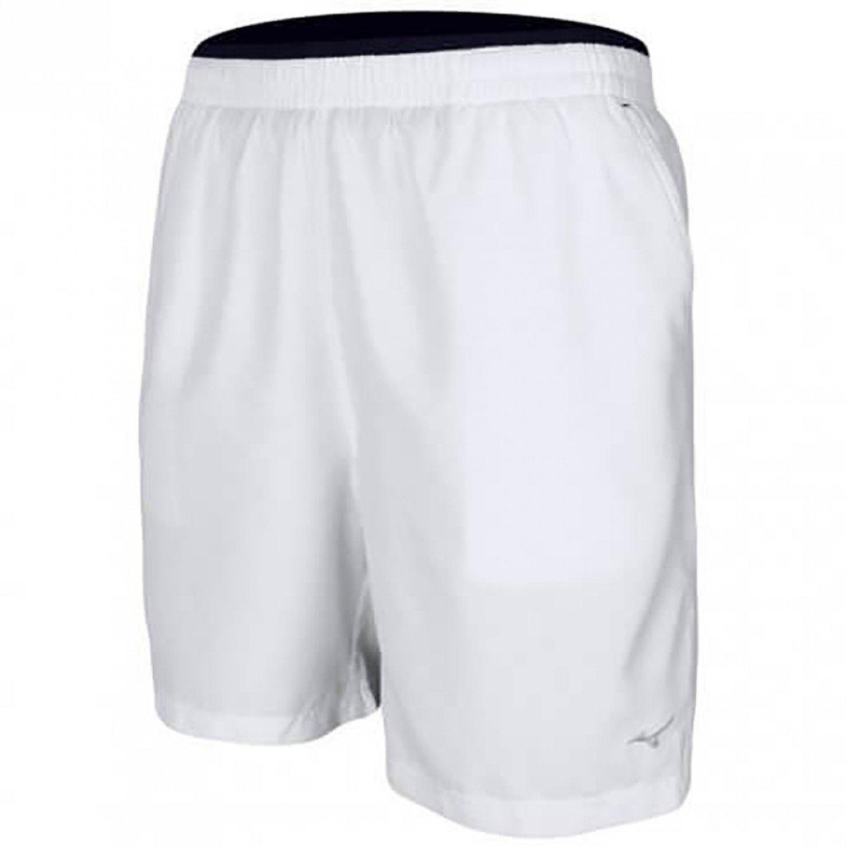 Bermuda Mizuno Tennis Master Branca Masculina 4005604 - Compre Agora ... 85aef72e7a3