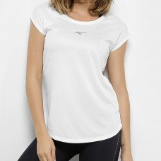 Camiseta Mizuno Fresh New Feminina - Branco
