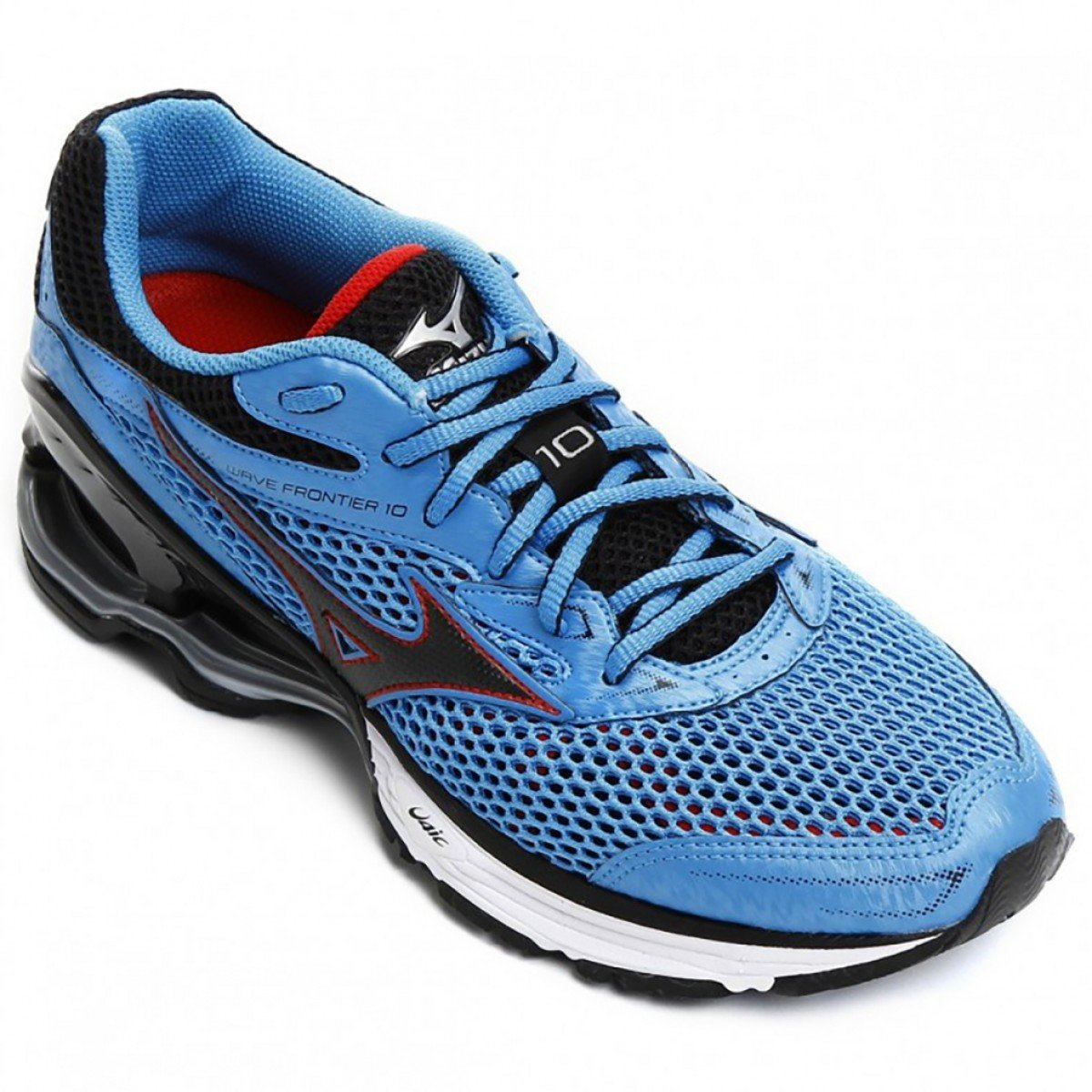 Tênis Mizuno Frontier 10 Masculino Azul e Vermelho - Compre Agora ... 5bf7ad142c4d2