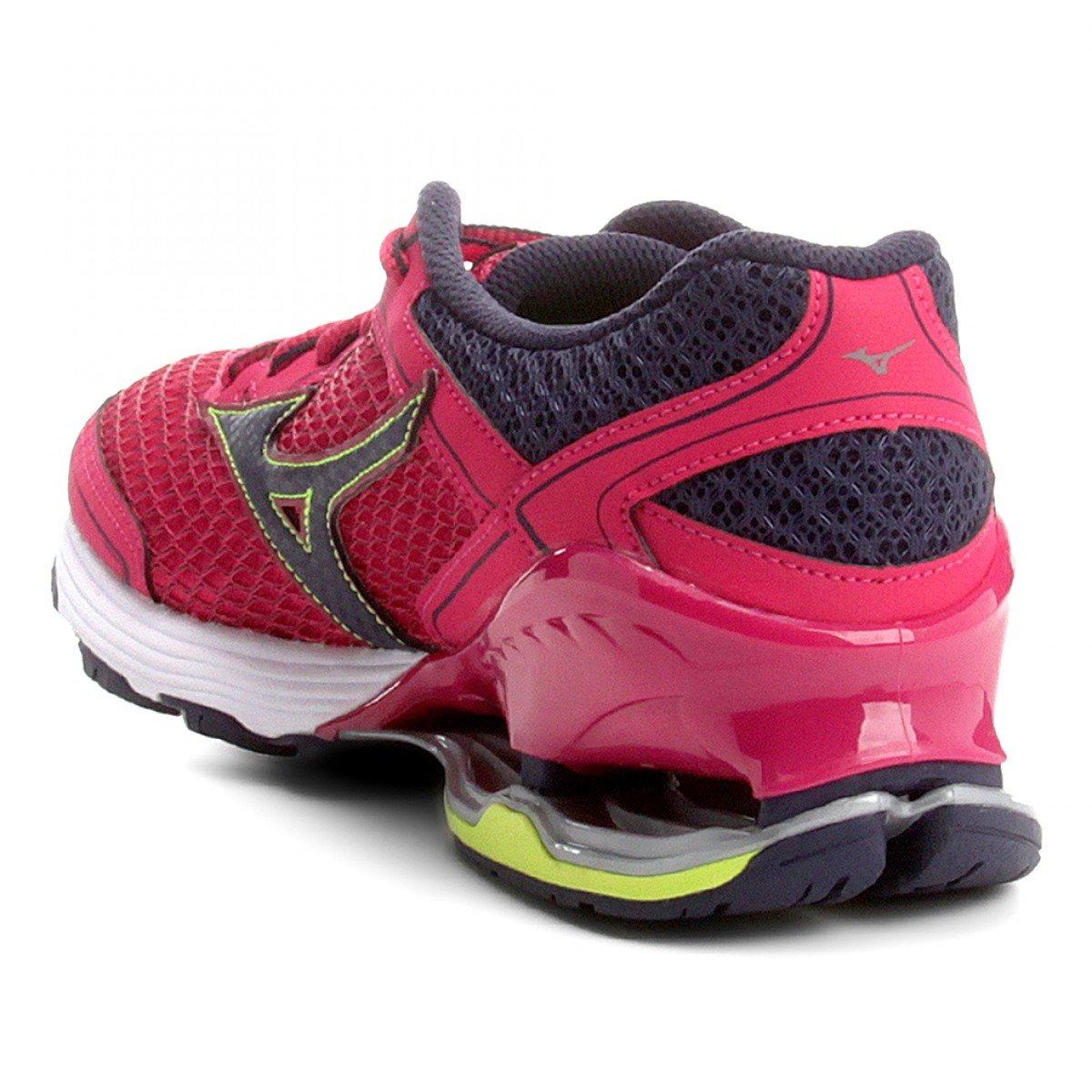 a04cfb93fa9eb Tênis Mizuno Wave Frontier 11 Feminino Rosa - Compre Agora