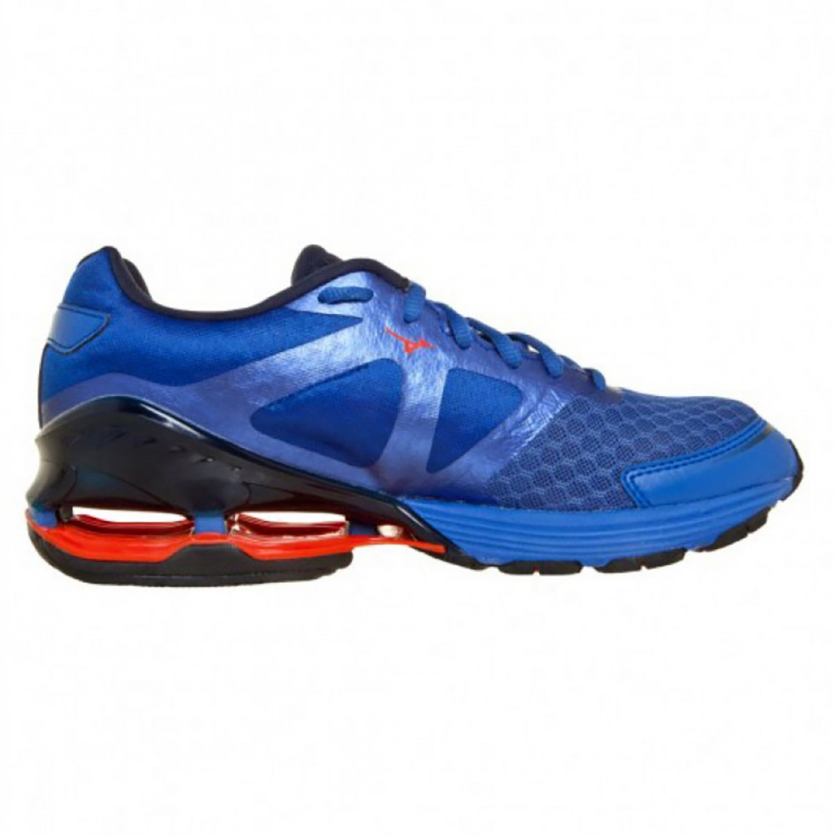 Tênis Mizuno Wave Frontier 8 Masculino Azul e Laranja - Compre Agora ... cb5422c3da8