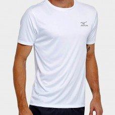 Camiseta Mizuno New Com Proteção UV Masculina - Branco