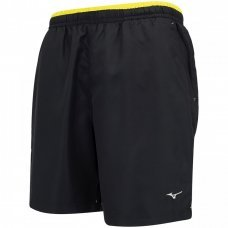 Bermuda Mizuno Tennis Master Masculina - Preto e Amarelo